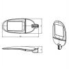 Светодиодный светильник FLA 04A-140-850-WL