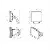 Светодиодный светильник FFL 03-230-850-A